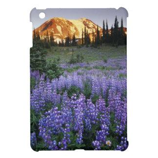 Mt.アダムスおよび副高山草原上の日没 iPad Miniケース