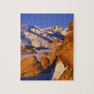Mt.ウィットニーおよび単独マツピーク ジグソーパズル