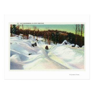 Mt.ヴァンHoevenbergのオリンピックボブスレーの操業意見 ポストカード
