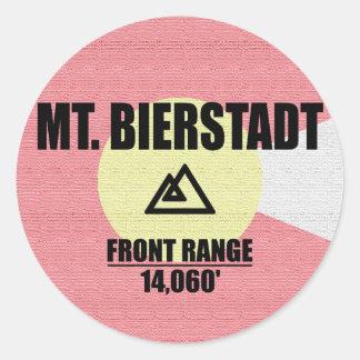 Mt. Bierstadt ラウンドシール