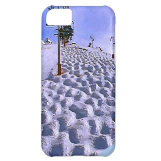 Mt Blancの範囲へのスキーリフト iPhone5Cケース