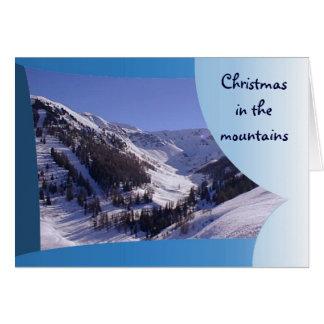 Mt Blancの範囲、フランスのなアルプス3 カード
