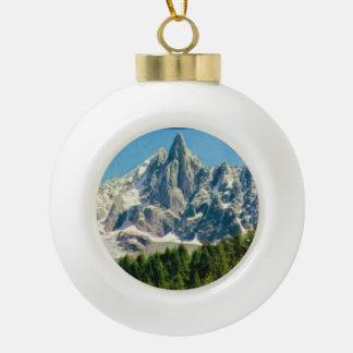 Mt Blanc セラミックボールオーナメント