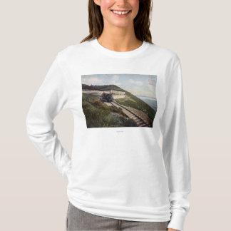 Mt. DiabloのTamalpaisの眺めの居酒屋 Tシャツ