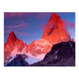Mt Fitzローイ ポストカード