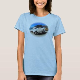 MT - frntの円形海MT; Rect。 ブルノMT背部 Tシャツ