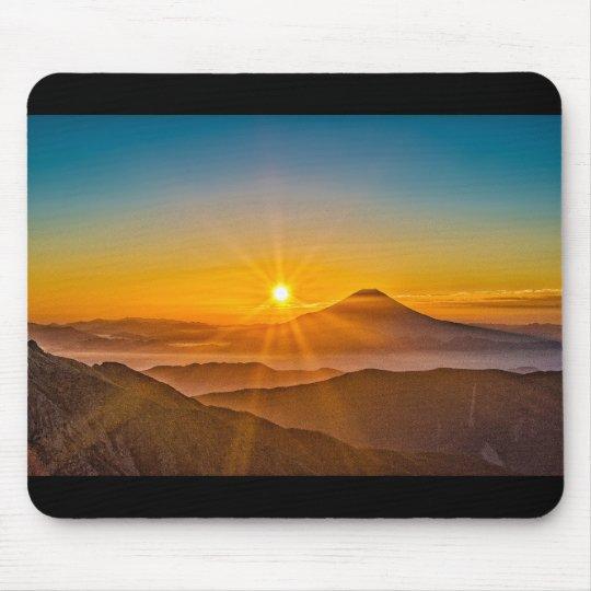 Mt.fuji and sunrise マウスパッド