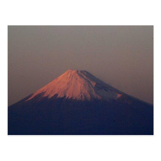 Mt. Fuji in Japan ポストカード