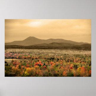 Mt. Katahdinバックスターの州立公園メイン ポスター