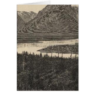 Mt Moran、Wyo カード