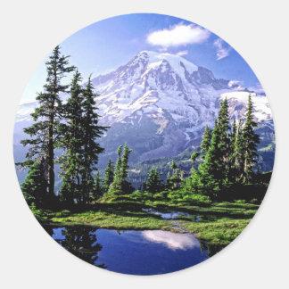 Mt Raineerの国立公園 ラウンドシール