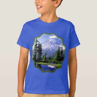 Mt Raineerの国立公園 Tシャツ