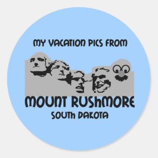 Mt. Rushmoore ラウンドシール