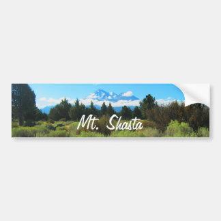 Mt Shasta バンパーステッカー