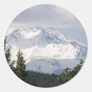 Mt. Shasta ラウンドシール