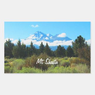Mt Shasta 長方形シール