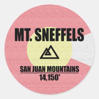 Mt. Sneffels ラウンドシール