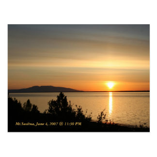 Mt.Susitna、2007年6月4日@ 11:3… ポストカード