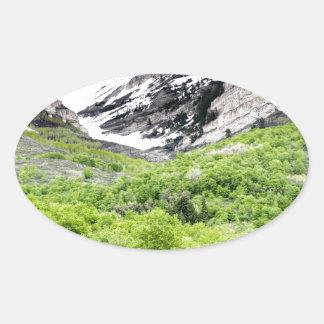 Mt Timp 楕円形シール