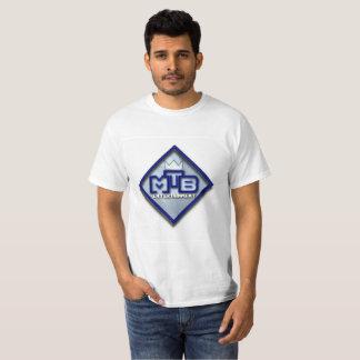 MtBのエンターテイメントのロゴの価値 Tシャツ