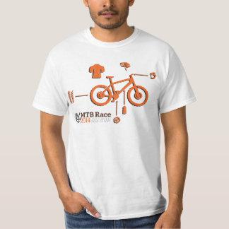 MTBの競争の会員 Tシャツ