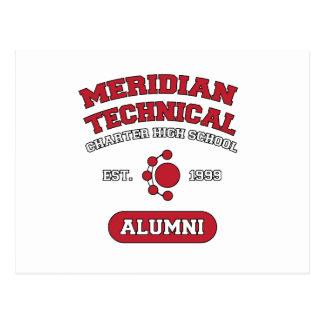 MTCHSの卒業生の大学スタイル ポストカード