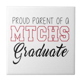 MTCHSの卒業生の誇り高い親 タイル