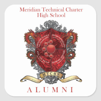 MTCHSの卒業生の頂上1 スクエアシール