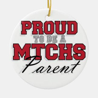 MTCHS親1があること誇りを持った セラミックオーナメント