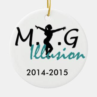 MTGの錯覚のオーナメント セラミックオーナメント