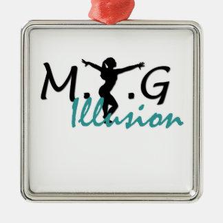 MTGの錯覚の優れた正方形のオーナメント メタルオーナメント