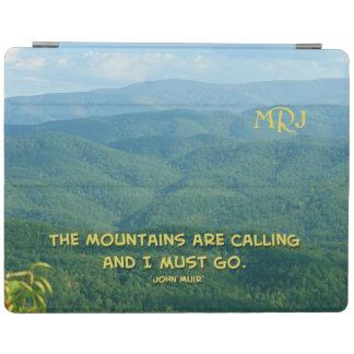 Mtns緑豊かな緑の煙の/Mtnsの呼出し! iPad カバー