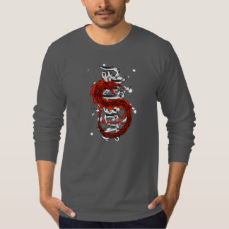 Muayタイのドラゴン Tシャツ