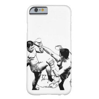 muaythaiの戦いの蹴り barely there iPhone 6 ケース
