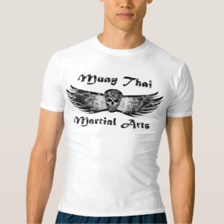 MuayThai , MartialArts , KickBoxing , Skull , Camo Tシャツ