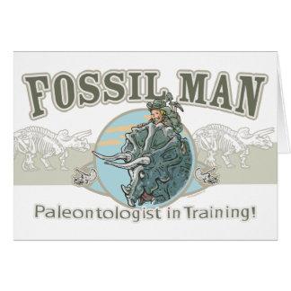 Mudgeのスタジオによる化石の人 カード
