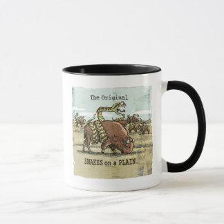 Mudgeのスタジオによる平野のおもしろいなヘビ マグカップ
