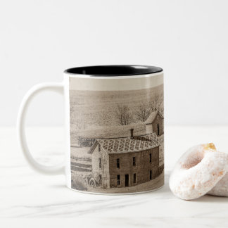 Mudhouseの大邸宅の無くなった歴史 ツートーンマグカップ