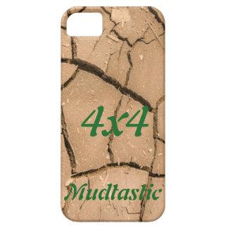 mudtastic泥のおもしろい4x4をroadingを離れたiphone 5の場合 iPhone SE/5/5s ケース