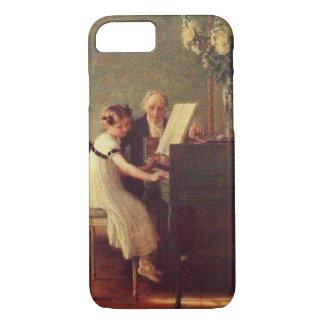 Muenier著最初のピアノのレッスン iPhone 8/7ケース