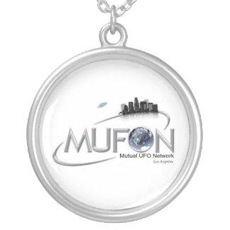MUFONロサンゼルスのネックレス シルバープレートネックレス