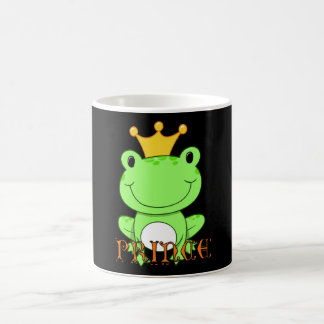 Mugカエルの王子 コーヒーマグカップ