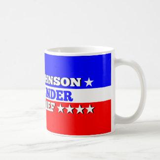 Mugギャリージョンソンの最高司令官 コーヒーマグカップ