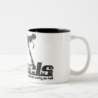 Mug Durtyのディーゼル女性 ツートーンマグカップ