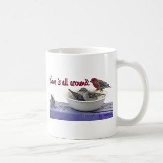mug.pngのためのフィンチ コーヒーマグカップ