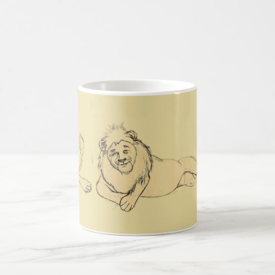 Mug-Sketches7-Lion コーヒーマグカップ