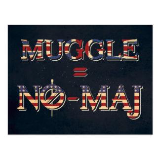 Muggle =非専攻学生 ポストカード