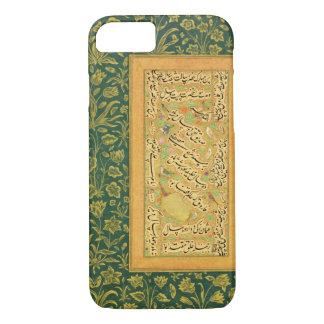 MughalのborのハートのMir Ali著書道、 iPhone 8/7ケース