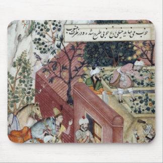 Mughal皇帝Babur マウスパッド