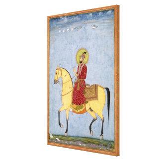 Mughal皇帝Farrukhsiyar (1683-1719年) (r.1713 キャンバスプリント